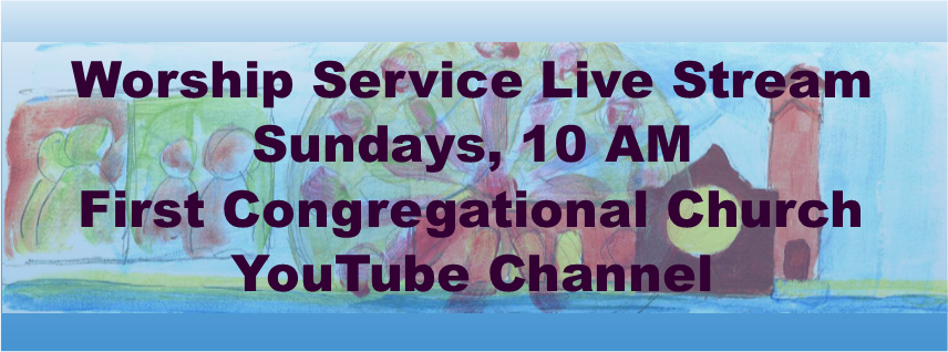 Live Streamed Church Service