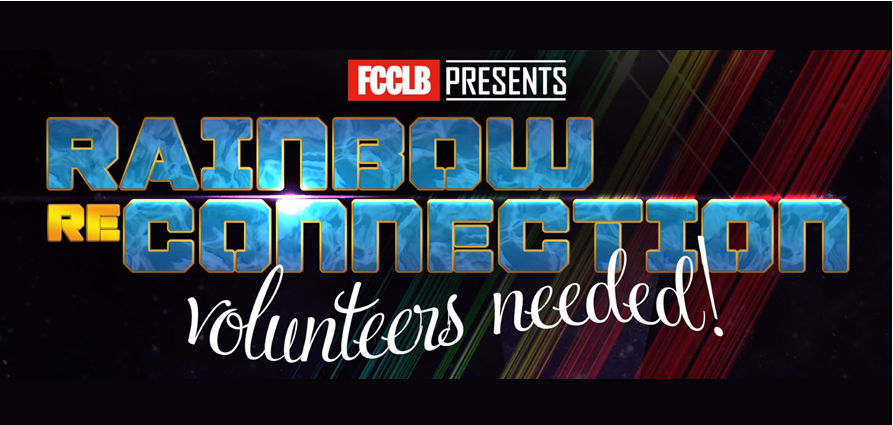 Rainbow Reconnection – Volunteers & Donations Needed!